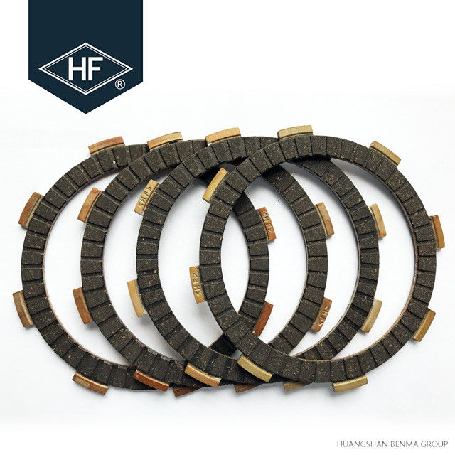 Cork Motorcycle Clutch Plate Fiber Friction 50Nm Torque 5 Pcs OEM Service